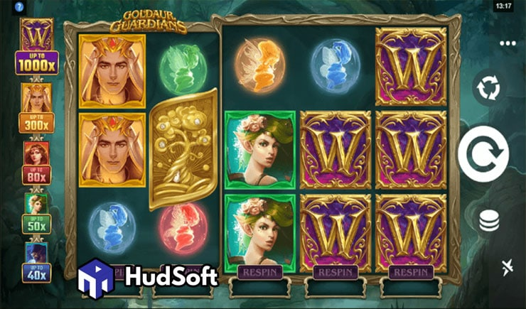 Cách chơi Goldaur Guardians