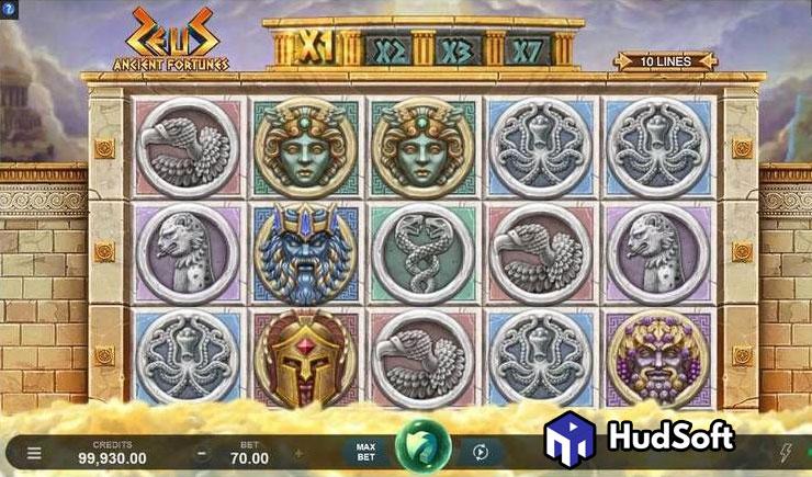 Cách chơi Ancient Fortunes Zeus