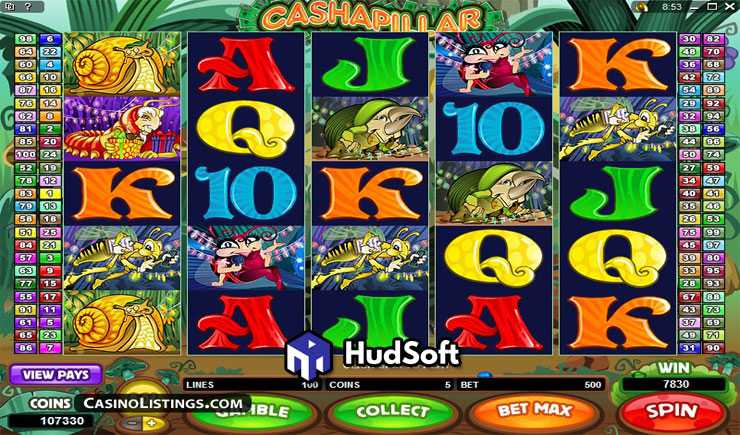 Cách chơi Cashapillar