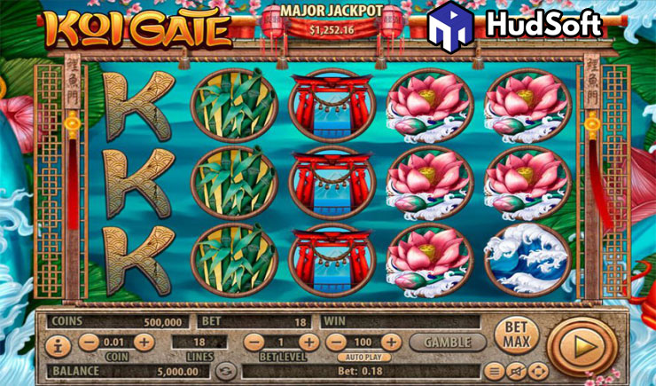 Cách chơi Koi Gate Slot