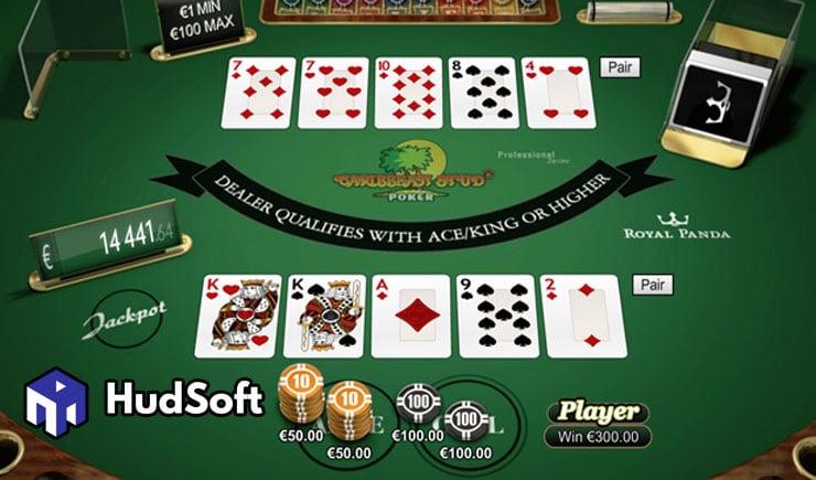 Cách chơi Caribbean Stud Poker