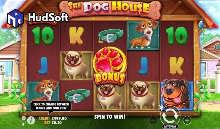 Cách chơi The Dog House Slot