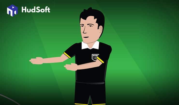 Ký hiệu của trọng tài bóng đá thường sử dụng trong trận đấu